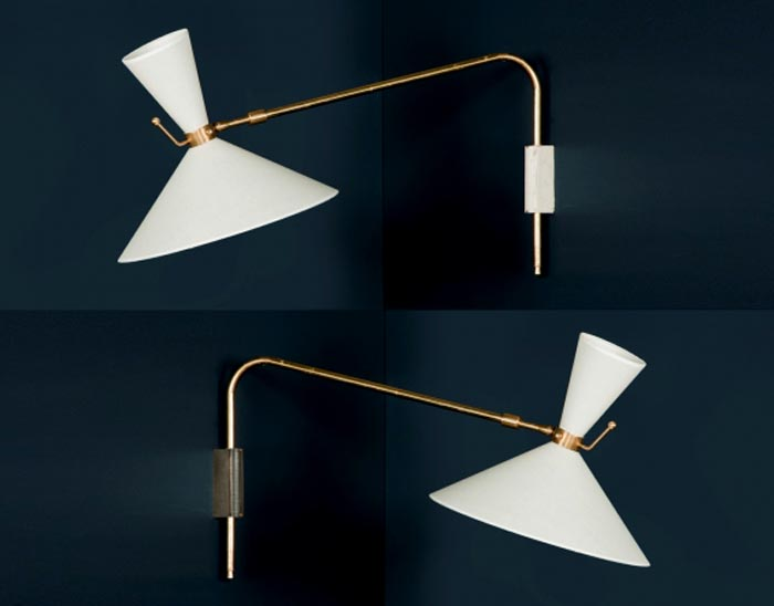 Pierre Guariche wall sconce lights