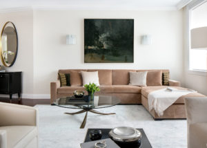 Upper West Side Landmark- Living Room