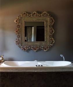 antiques in bathrooms