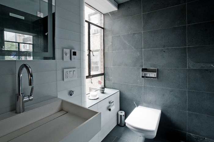 dark bathroom ideas