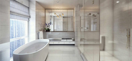 high-end bathroom design