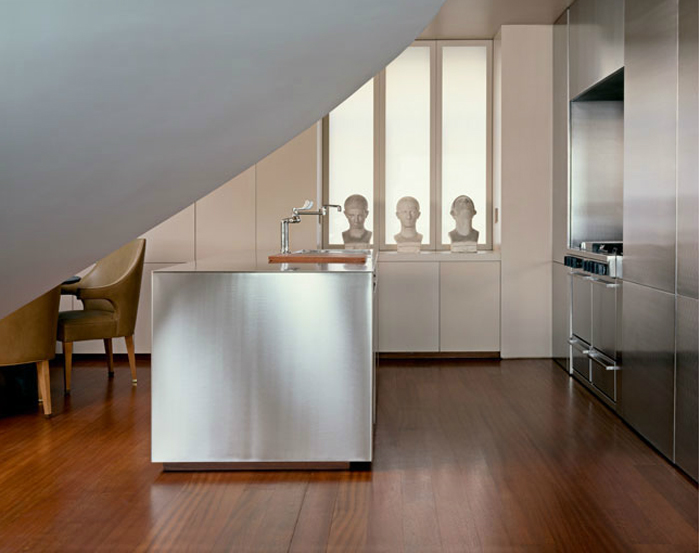 kitchen design - stainless steel