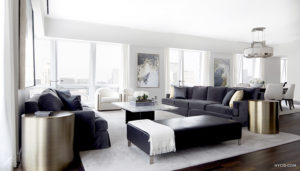 5th Ave Penthouse designed by Erika Flugger