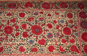 embroidered moroccan fabric