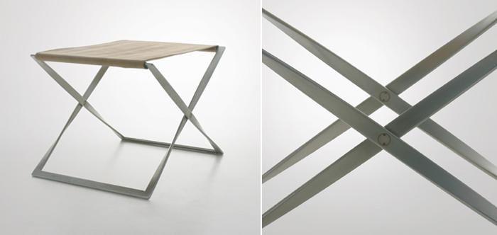 poul kjaerholm pk-91 folding stool