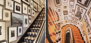 staircase picture wall ideas
