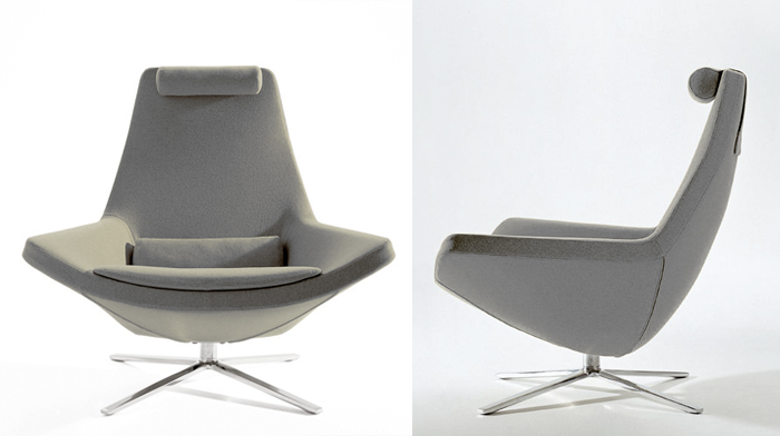 swivel lounge chair selection