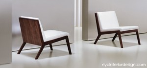 warm, modern restaurant chairs